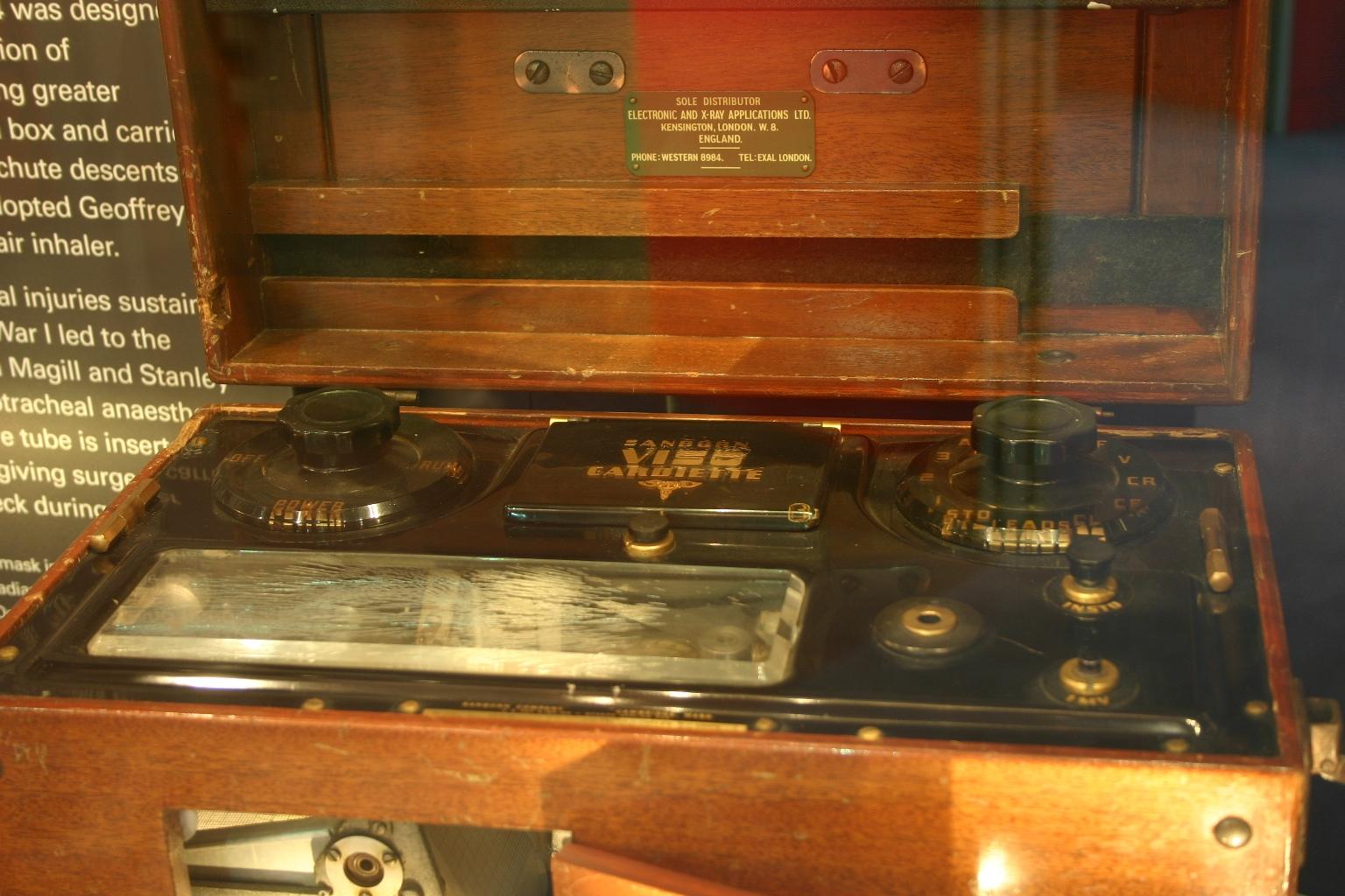 Ecg Apparatus Used On King George Vi C 1951 Himetop