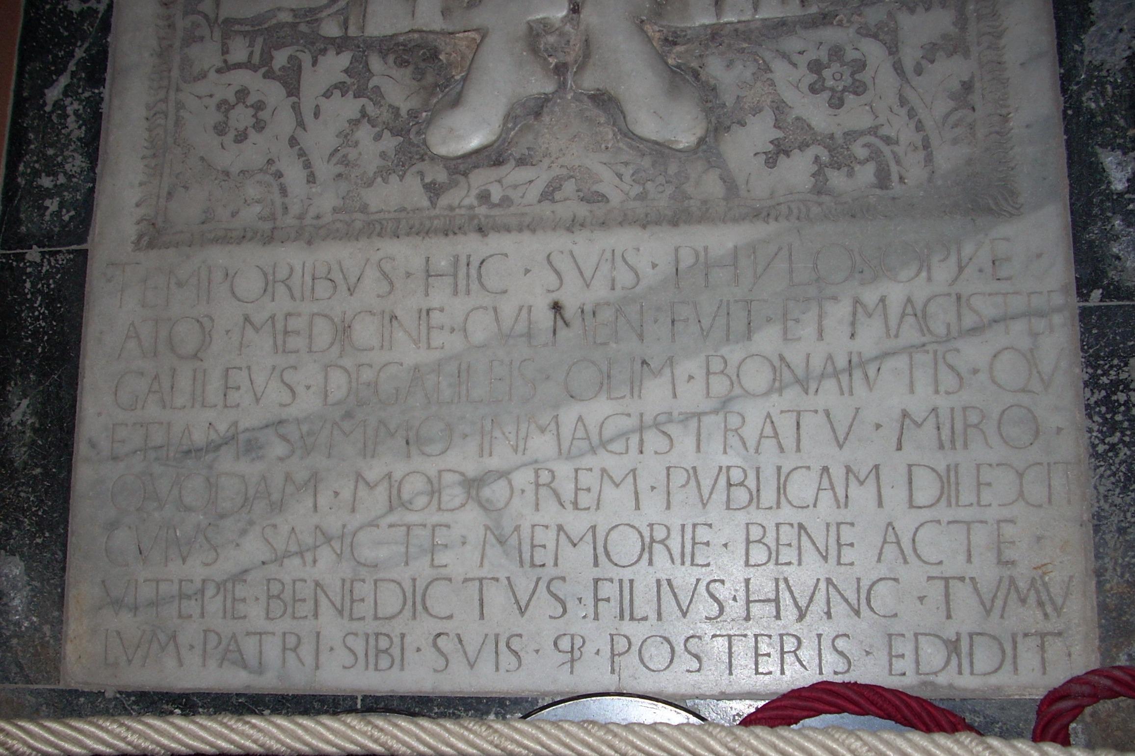 Galileo Bonaiuti S Tomb Himetop