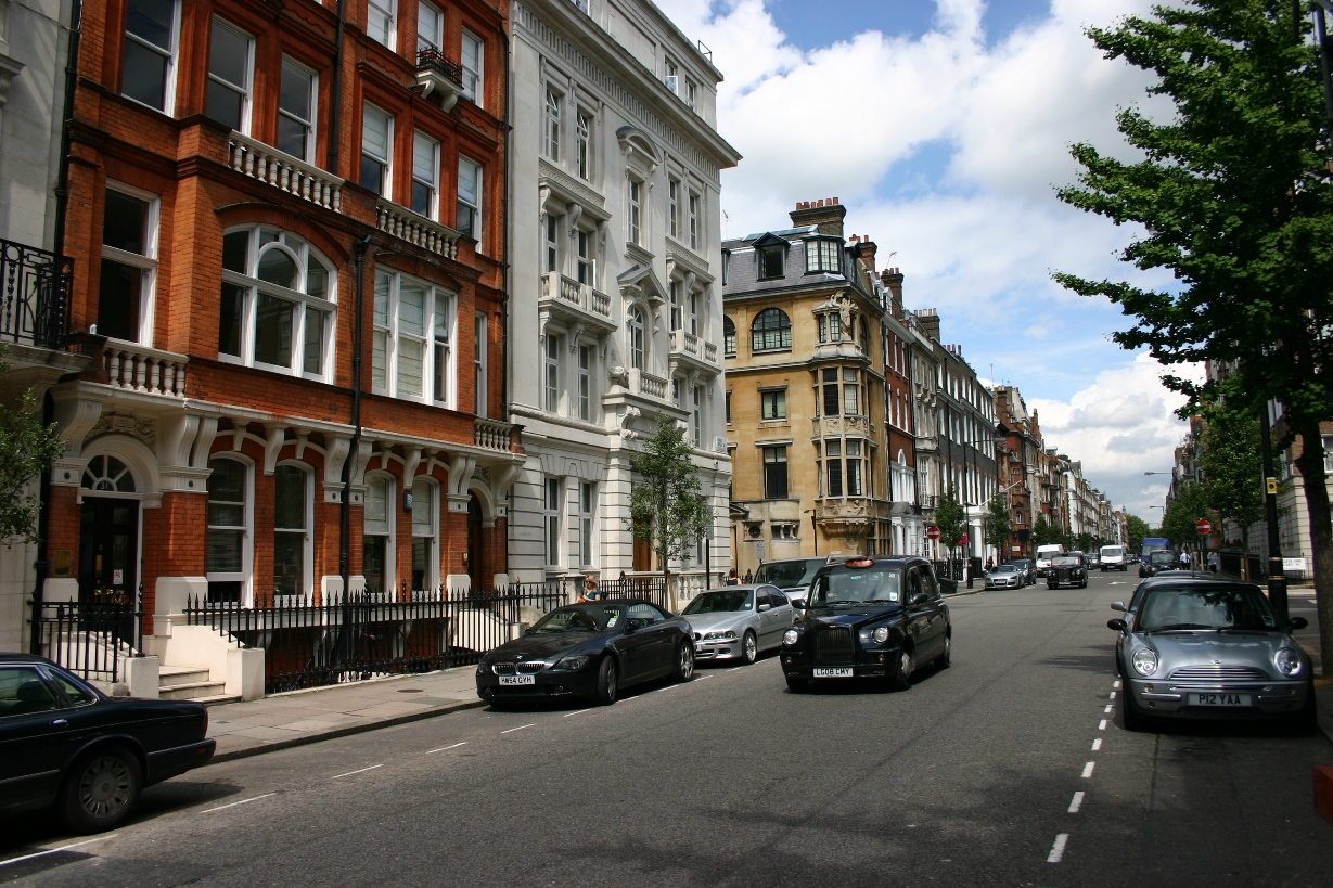 Street and portland place acquired the same prestige as harley street