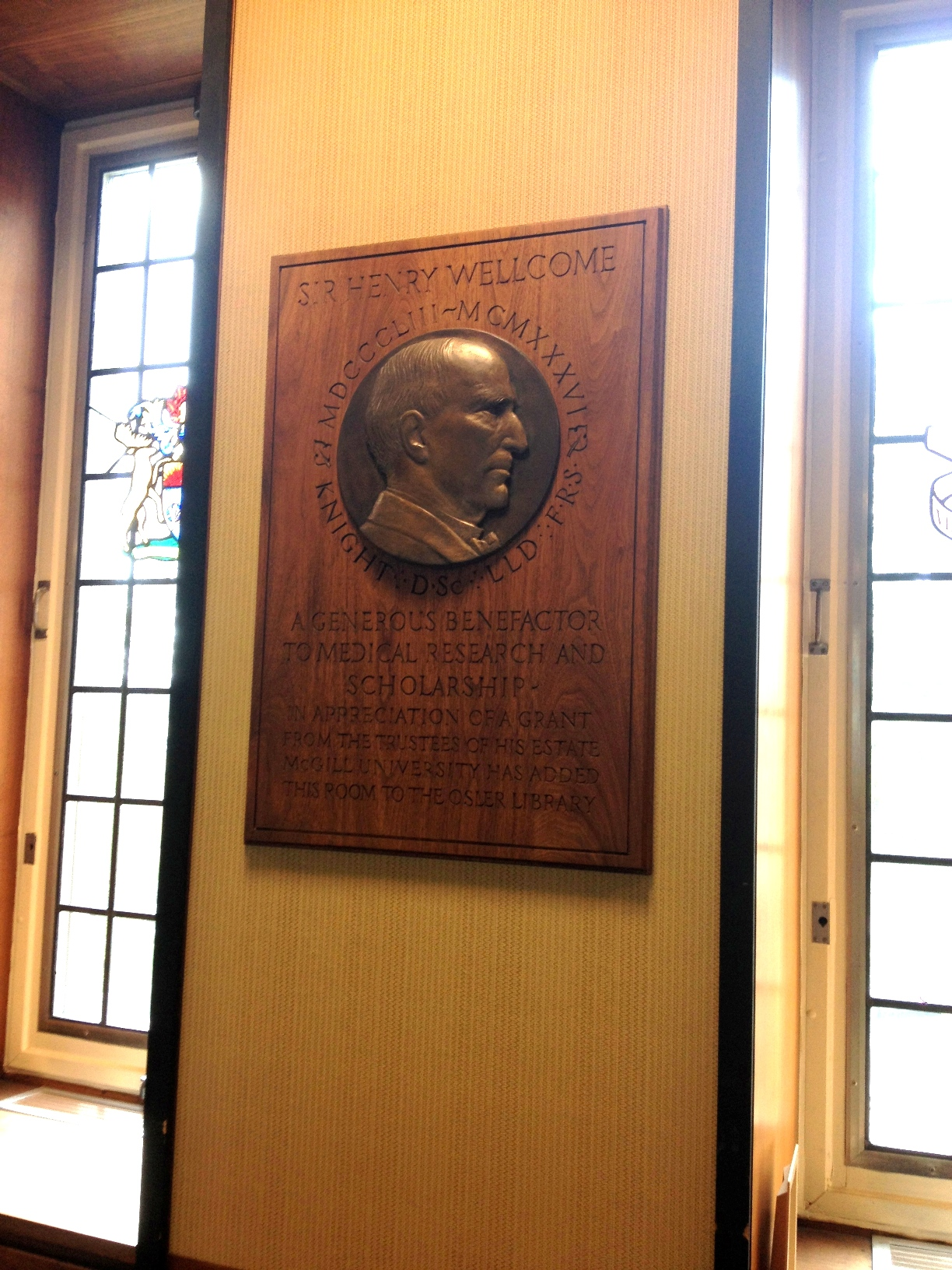 Osler Library Rooms
