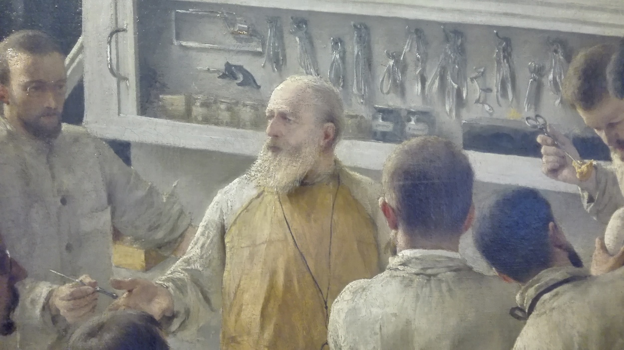 Quot Theodor Billroth Operating Quot 1889 By A F Seligmann Himetop