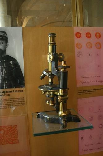 Alphonse%20Laveran%27s%20microscope%20and%20surgical%20instruments%2C%20Val-de-Gr%C3%A2ce%2C%20Paris%20-%2001.JPG