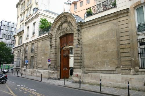 Hotel Recamier Paris France