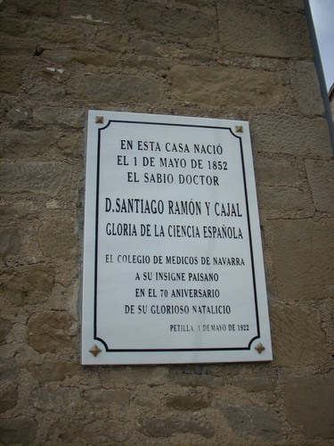 Santiago%20Ramon%20y%20Cajal%27s%20birthplace%20and%20museum%2C%20Petilla%20de%20Aragon%20-%202.JPG